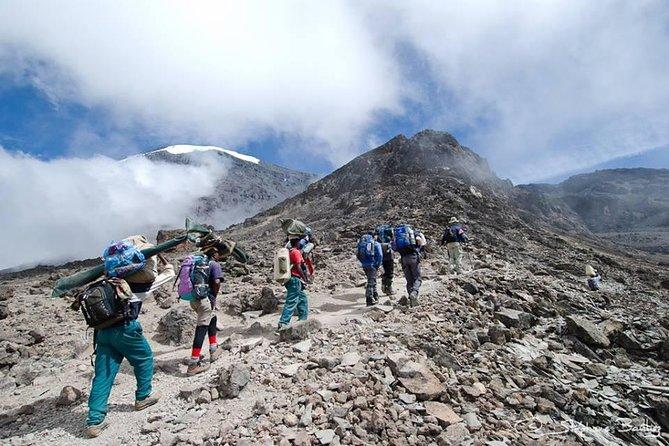 Kilimanjaro Climb, Umbwe Route, 5 Days