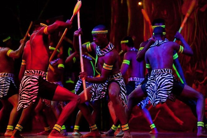 Private Safari Park Hotel Cat Dance and Dinner Experience