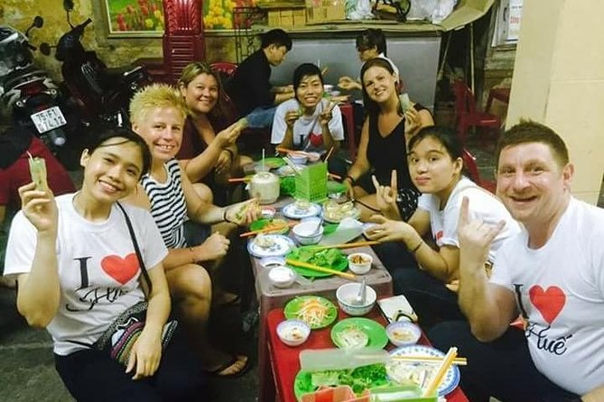 Hue Street Food Tour At Night By Scooter