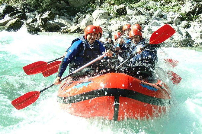 RAFTING on Soca River, Bovec, Slovenia