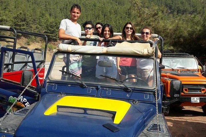 Marmaris Jeep Safari, Waterfall, Jesus Beach