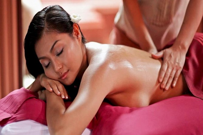 Turkish bath oil massage