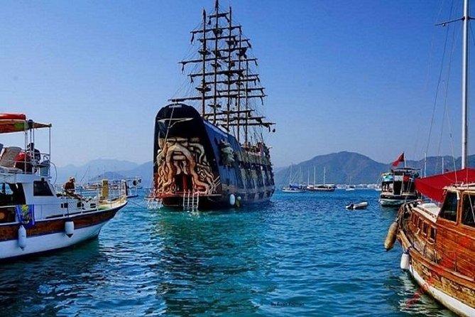 Marmaris Pirates-boottochten