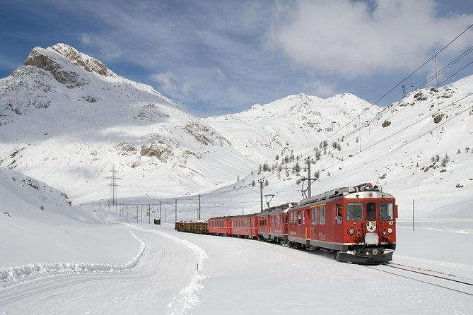 Tour Bernina Red Train And St Moritz