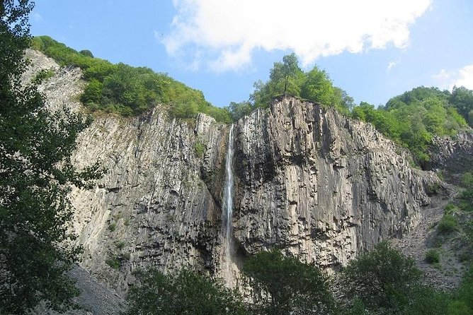 Highest waterfall and mystique mountain