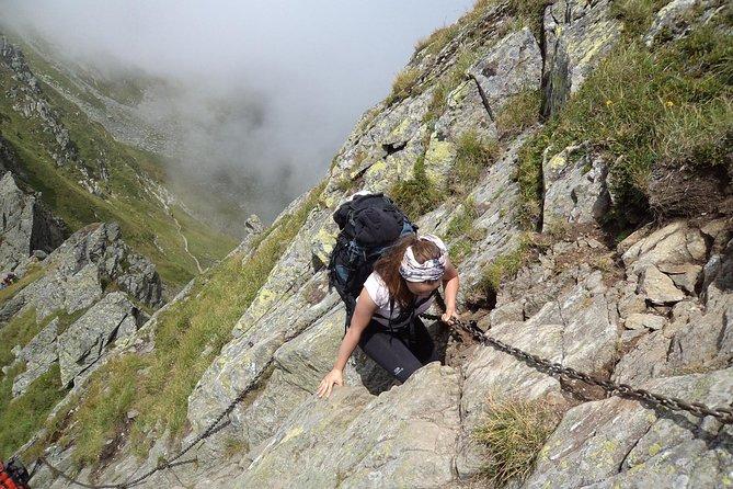 Fagaras mountains hiking tour