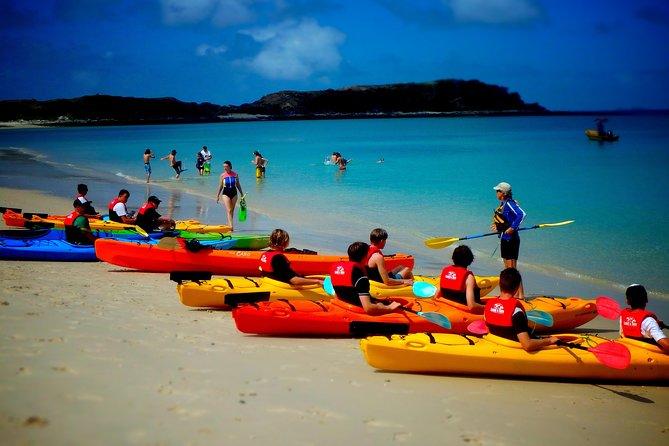Great Keppel Island Monkey Beach Guided Kayak Tour
