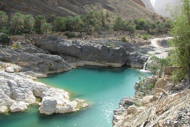 Wadi Shab Crystal Blue Water