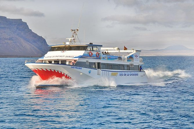 Lanzarote to La Graciosa Island Return Ferry Ticket with Bus Transfers