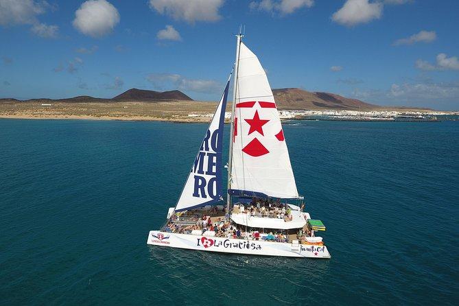Luxury Catamaran Cruise Day Trip to La Graciosa without pick up service