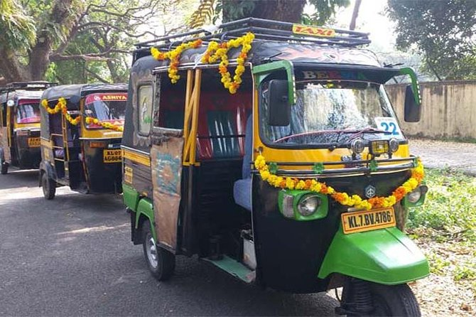 Private Guided Kochi Tuk tuk Tours with Pickup from Cruise Ships