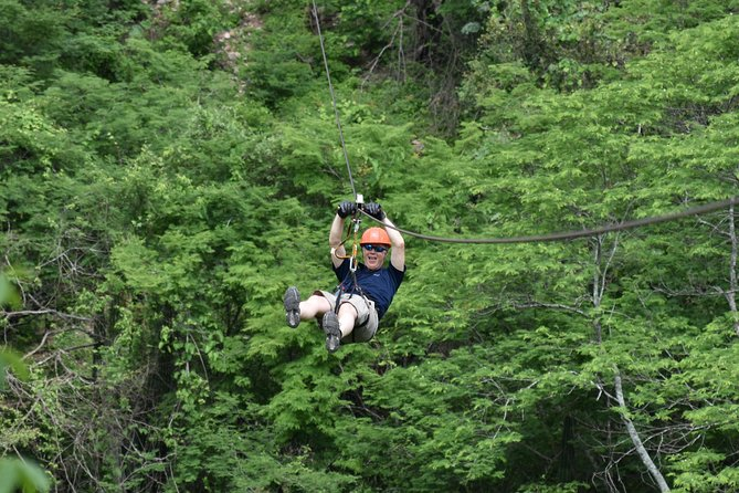 Half-Day Ziplining Experience from Mazatlán