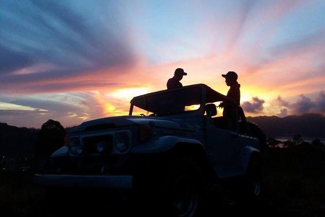 Batur Caldera Sunrise by 4Wd Jeep