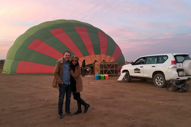 1-hour Private TOP VIP Hot Air Balloon Flight North Marrakech with Breakfast