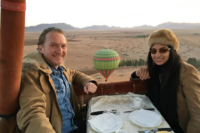 Exceptional Private ROYAL Hot Air Balloon Flight with Seated Air Breakfast