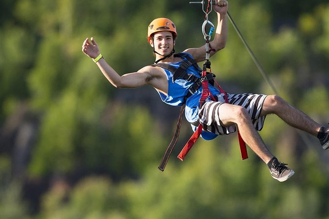 Small Group Mega Ziplines Tour with Via Ferratta and Rappel