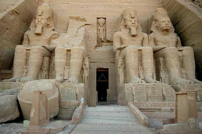 Abu Simbel from Aswan include Entrance fees
