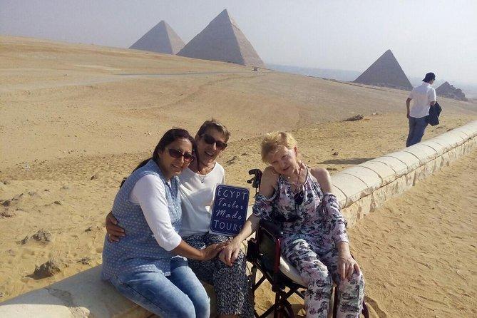 Day Tour to Giza Pyramids, Saqqara and Dahshur