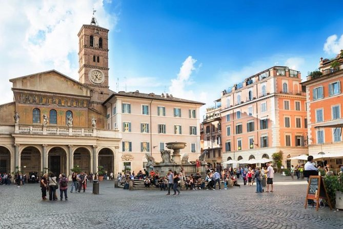 Jewish Ghetto and Trastevere Small Group Food Tour
