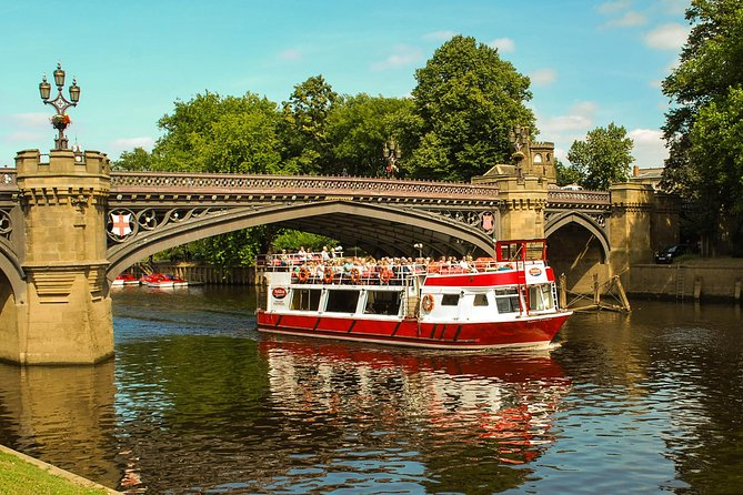Ouse River Sightseeing Cruise in York