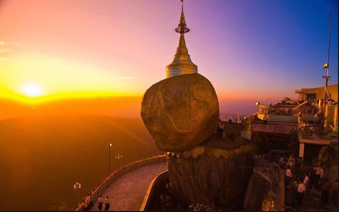 2-Day Private Golden Rock and Bago Tour from Yangon