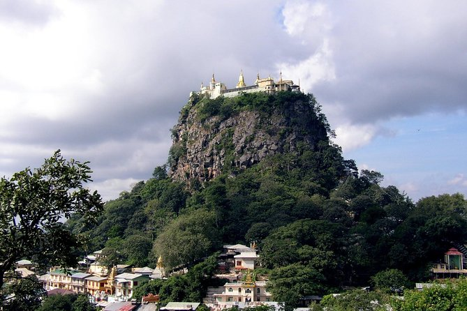 Full Day Mount Popa Hiking and Excursion from Bagan with Pick up