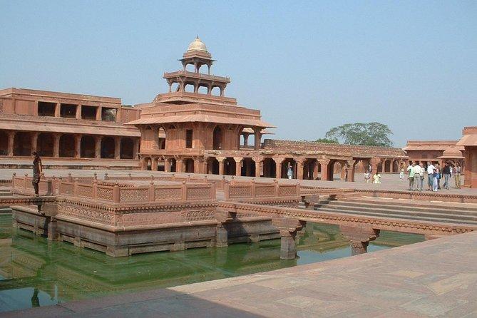 Privat dagstur til Agra fra Delhi, inkludert Taj Mahal Agra Fort og Baby Taj