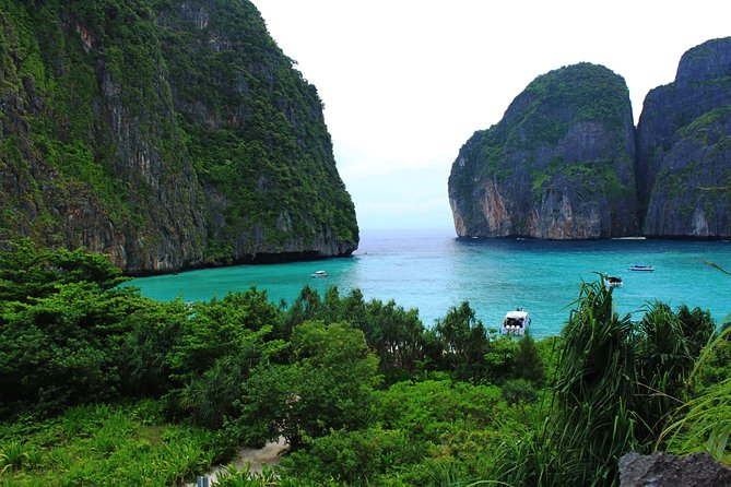 HALF DAY PHI PHI ISLAND WITH LUNCH-Tour by Speedboat from Phuket