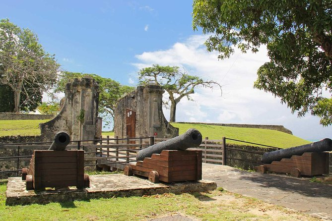 Sightseeing Tour: Visit a Fort and Hike in a Tropical Forest