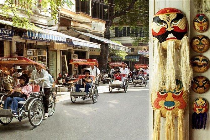 Hanoi Discovery With Cyclo And Street Food Tour - Små Gruppresor
