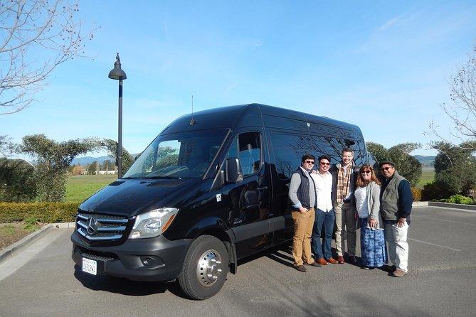 Private Napa Sonoma Party Bus Tour
