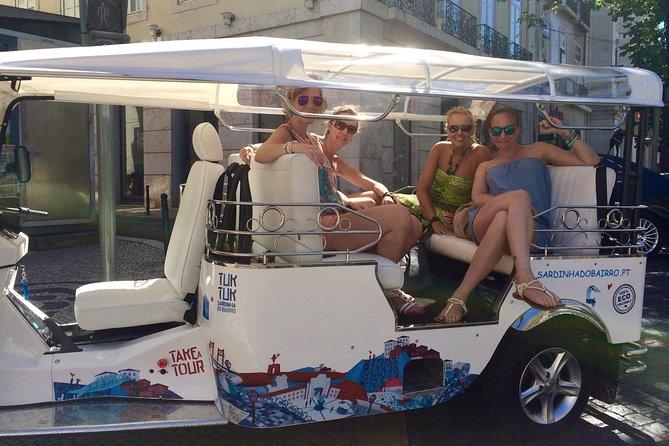 Best of Lisbon Half Day Private Tuk Tuk Tour
