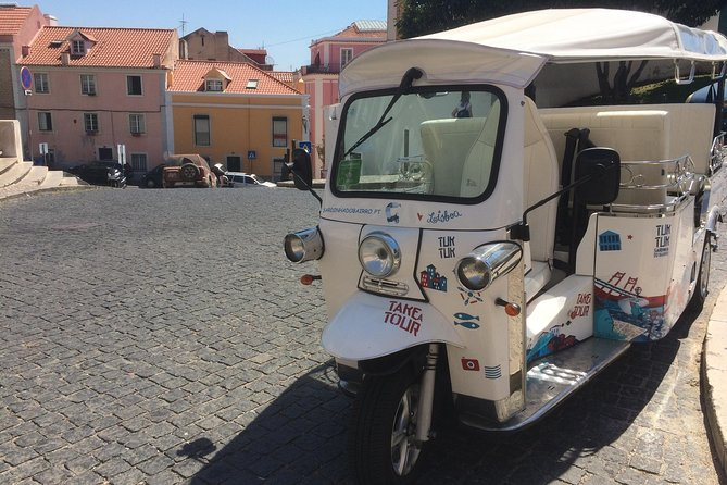 Private Tuk Tuk City Tour of Lisbon - 1:30h Tour