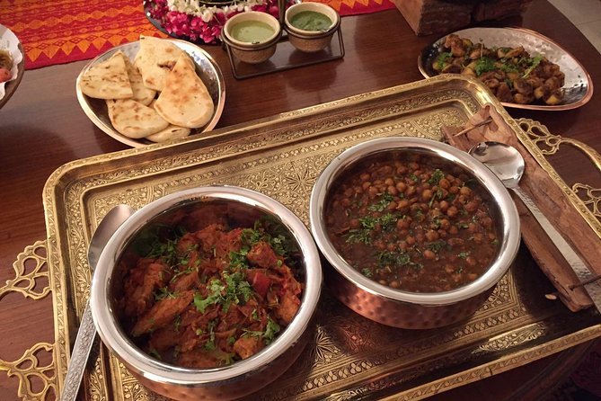 Delhi Cooking Demo and Lunch Punjabi Style