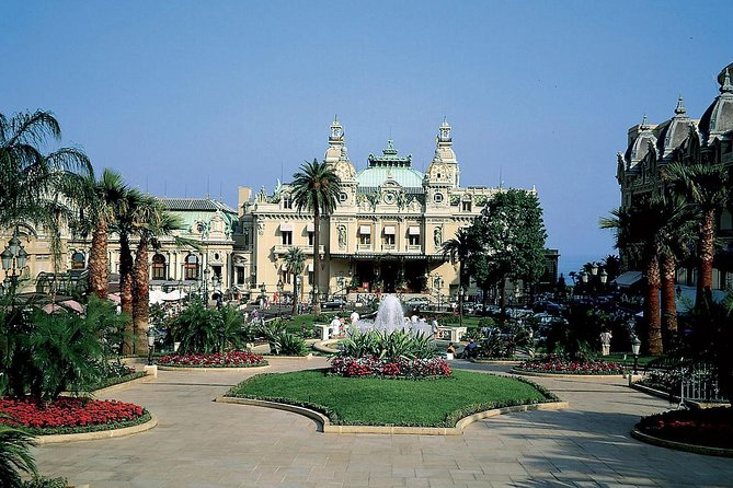 Eze Monaco and Monte-Carlo - Shared and Guided Half Day Tour