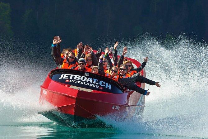 Jetboat Scenic Ride in Interlaken