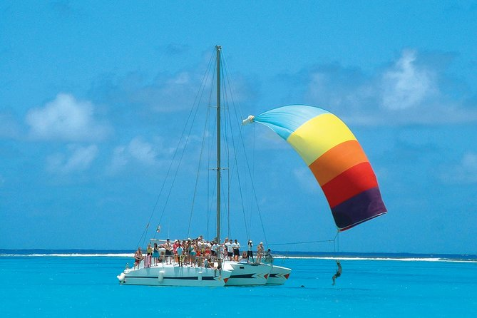 Catamaran Cruise with Lunch and Open Bar from Riviera Maya