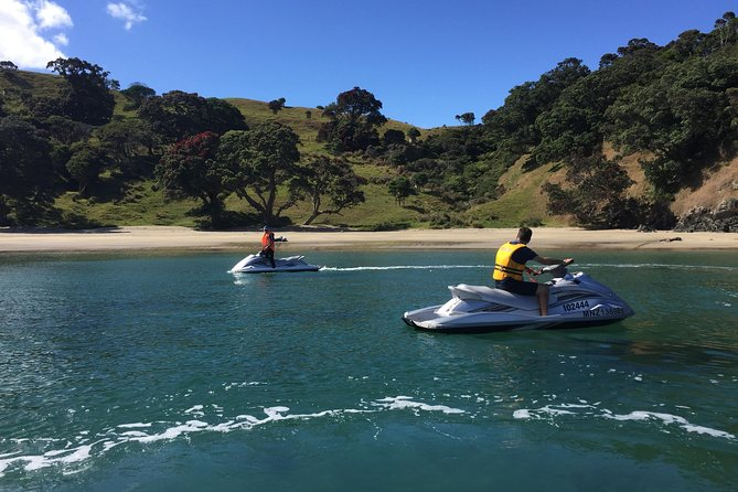 Self-Guided Jet Ski Tour of Waiheke Island