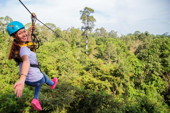 Angkor Wat Park Zip Line Adventure in Siem Reap