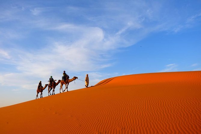 7 Day tour from Casablanca to desert and Chefchaouen via Fes