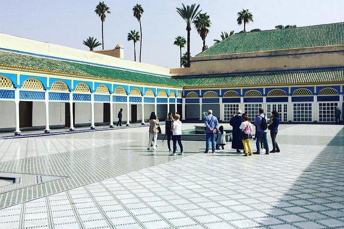 Excursión guiada de un día a pie desde Casablanca a Marrakech
