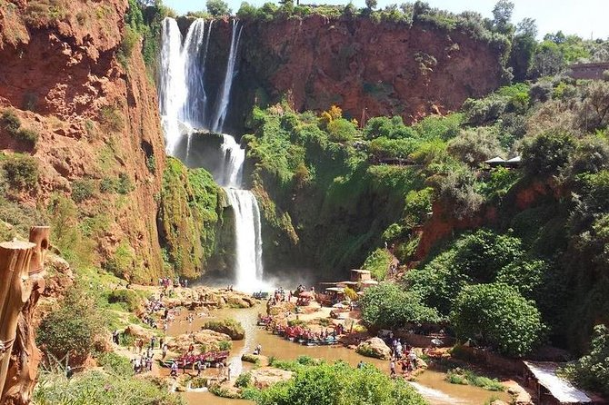 2 days Private Tour from Marrakech to Ouzoud Waterfalls and Fes (Fez)