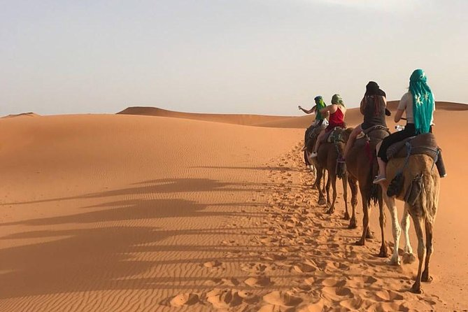 3 Days Shared Sahara desert Trip from Marrakech To Merzouga