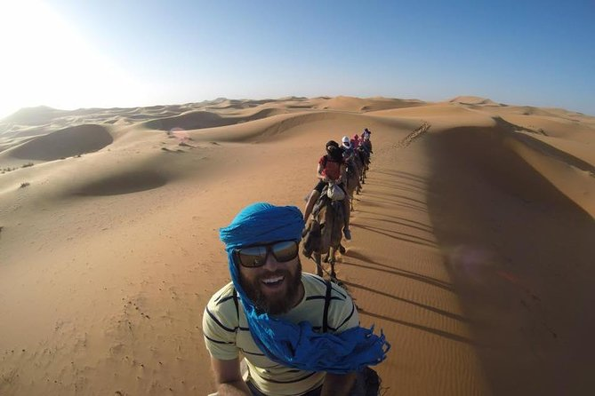 3 days Desert Tour from Essaouira to Sahara in Morocco camel trip