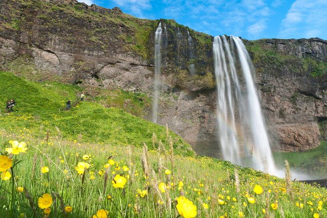South Coast Sagas tour by minibus from Reykjavík