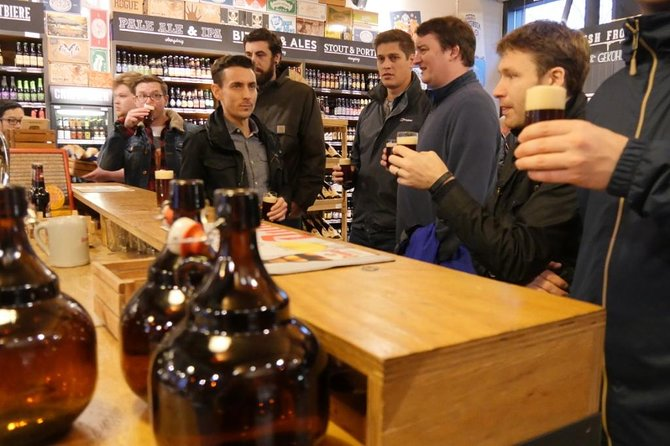 Taste craft beer during your tour.