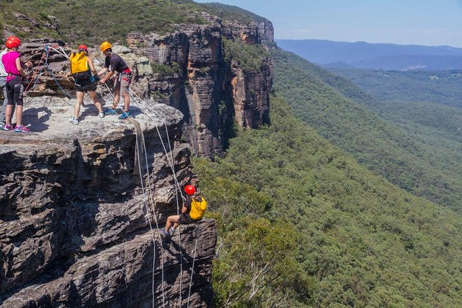 Small-Group Half-Day Abseiling Adventure from Katoomba