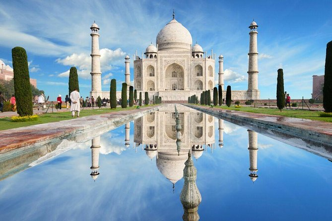 Luxury Taj Mahal and Agra Tour From Delhi By Mercedes Car or Audi Car