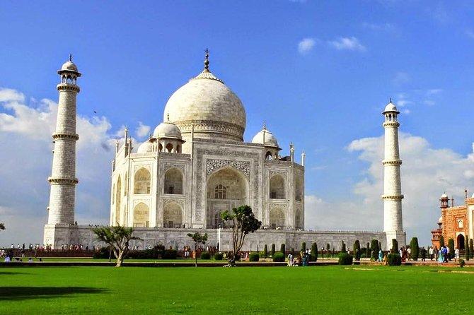 Privat dagstur av Taj Mahal og Agra Fort med lunsj fra Delhi
