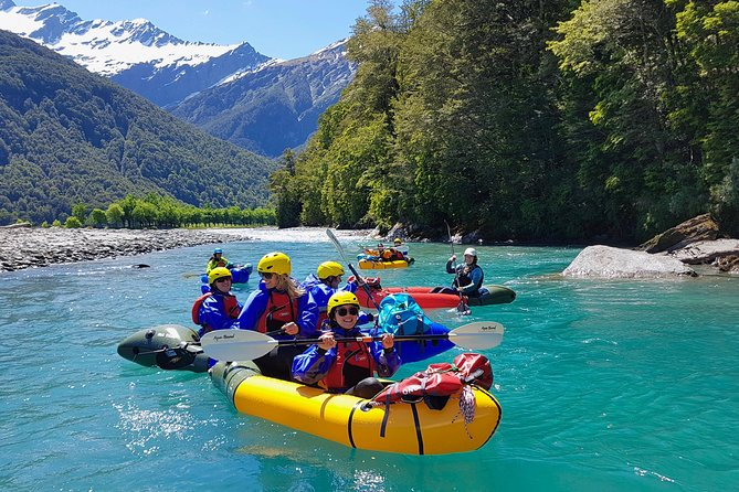 Packraft Wanaka 'Raft' plus Jet Boat & Wilderness Walk Tour from Wanaka